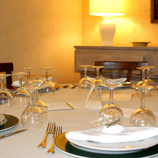 events, furnished table